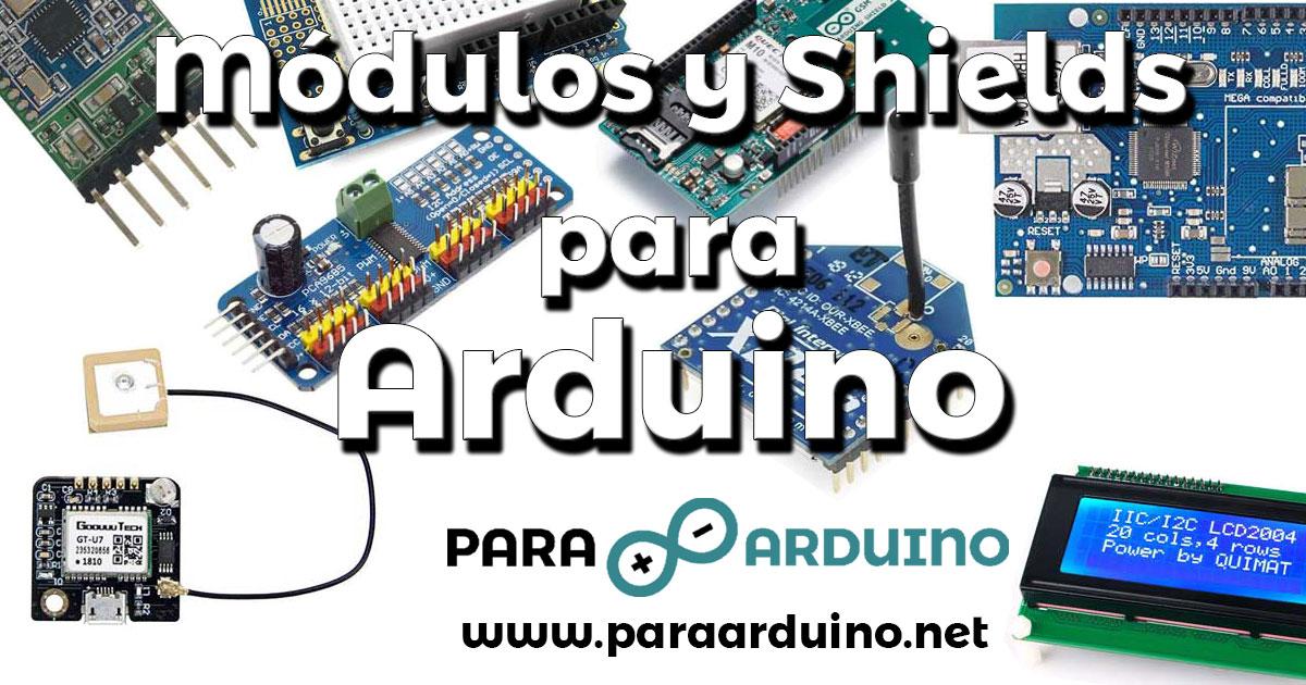 Componentes Módulos Y Shields Para Arduino